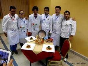 Os Chefs Portugeses e alguns colegas deo Egito