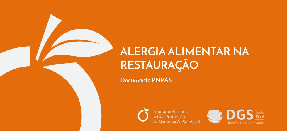 Alergia alimentar na restauração PNPAS
