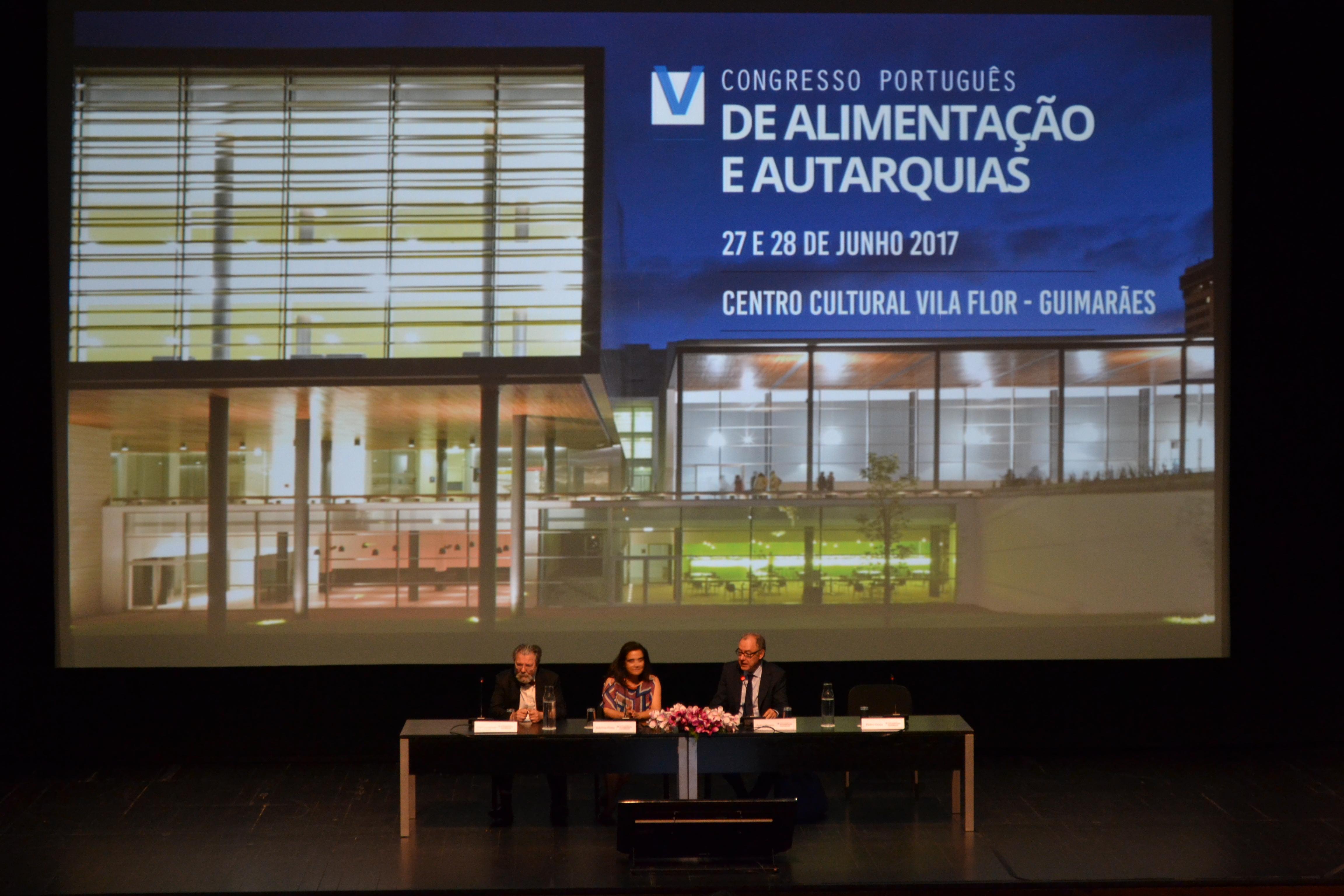 1º dia do V Congresso Português de Alimentação e Autarquias 1