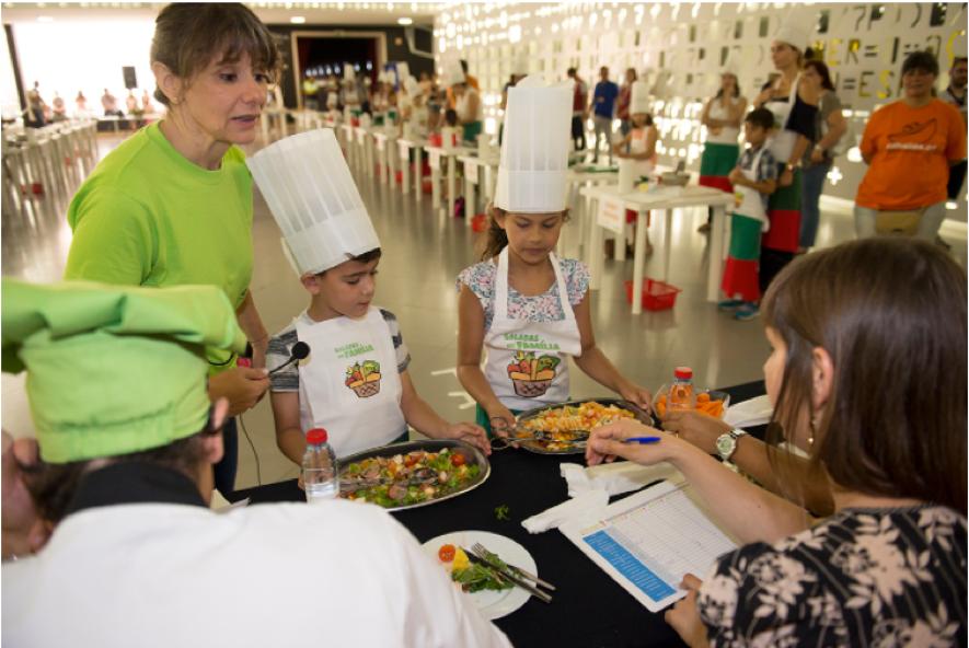 Saladas em família - O PNPAS colabora com a CML 1