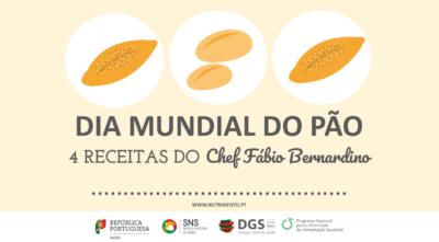 O Dia Mundial do Pão celebra-se com receitas do PNPAS 1