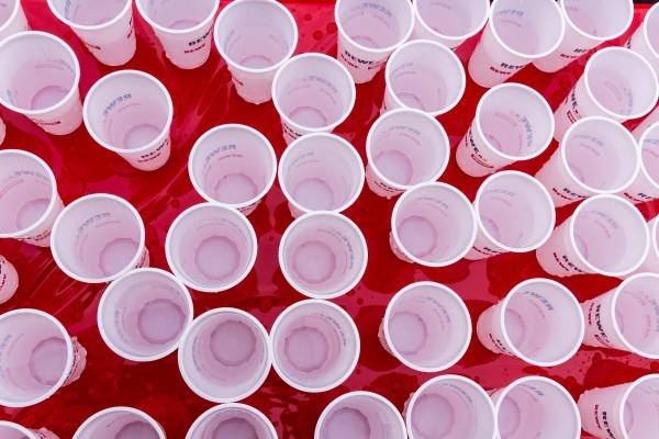 copos de plastico nutrimento