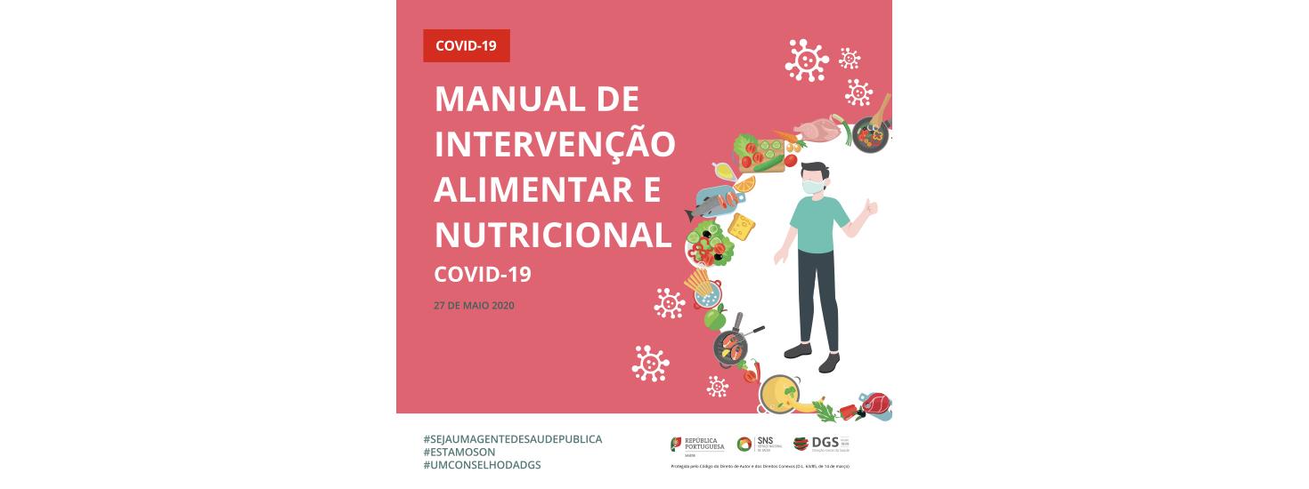 Manual de intervenção alimentar e nutricional | COVID-19