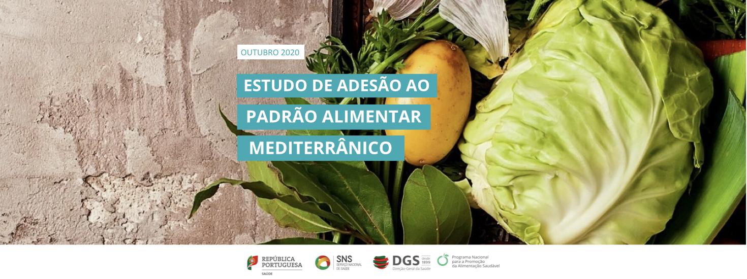 Estudo de adesão ao padrão alimentar mediterrânico