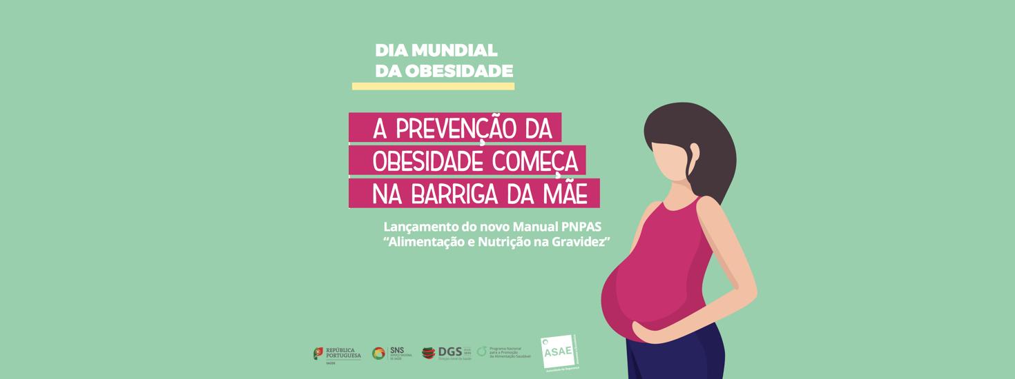 """Novo manual do PNPAS """"Alimentação e Nutrição na Gravidez"""""""